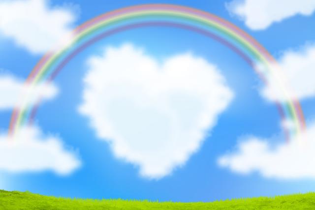 希望の空 虹