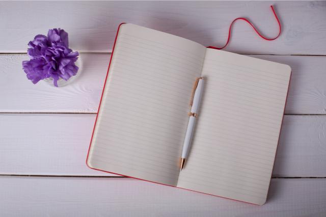 ノート ペン 書き出すワーク